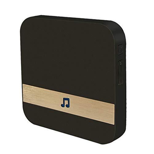Ontvanger voor binnen Smart WiFi Visueel accessoire Draadloze deurbel M3 deurbel Zwart EU