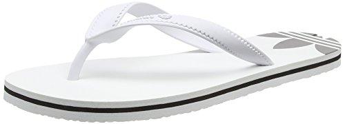 Adidas Damen Adi Sun Pantoletten, Weiß (Ftwr White/Ftwr White/Core Black), 39 EU