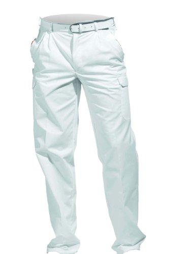 LEIBER Cargo-Hose Damen/Herren ,Farbe : Weiß, Größe : 94