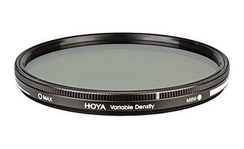 Hoya Variable Density 3-400 - Filtro polarizador de 67 mm, montura negra
