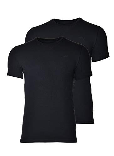 Joop! Paquete de 2 Camisetas de Hombre Camiseta, Cuello Redondo, Media Manga, Modal Cotton Stretch