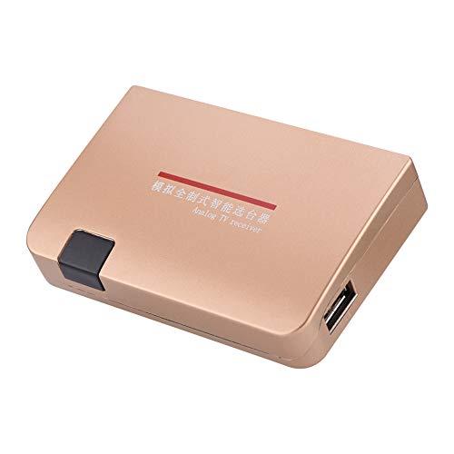 Queen.Y 100-240 V HDMI-HF-Wandler Analoger TV-Empfängeradapter mit Fernbedienung Geeignet für Projektoren Multimedia-Unterricht Netzwerktechnik Usw.