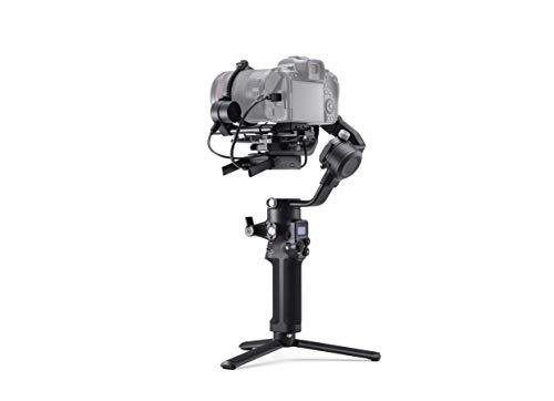 DJI RSC 2 Pro Combo - Estabilizador Gimbal de 3 Ejes para Cámaras sin Espejo y DSLR, Nikon Sony Panasonic Canon Fujifilm, Ronin SC, Carga de 3 kg, Transmisor de Imágenes, Sistema de Enfoque - Negro