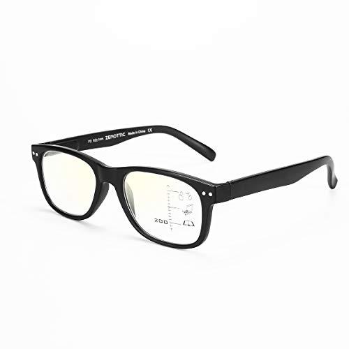 Gafas lectura multifocales progresivas Clásico anti-luz