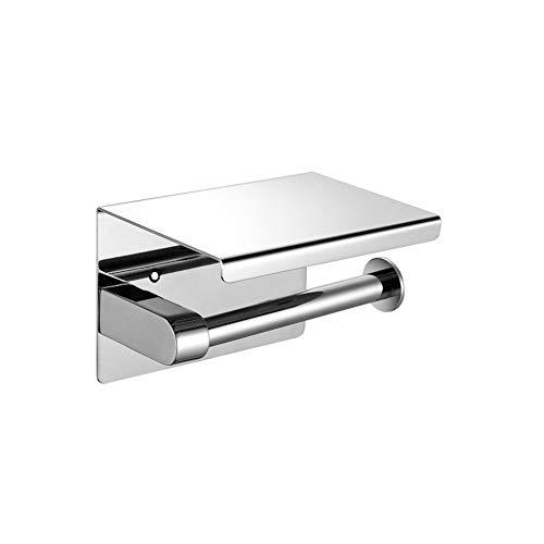 Yschen Punch-Free Edelstahl Papierhandtuchhalter Bad Taschentuch Box Handyhalter Toilette Bad Toilettenpapierhalter Rollenhalter