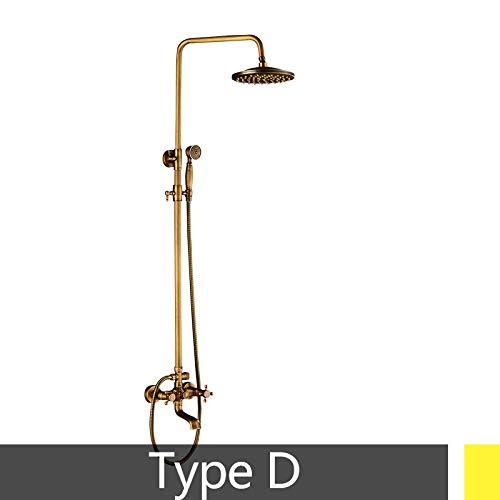 Antique Brass Beliebte Duschset Bad Duschkopf 8