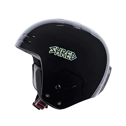 Shred Basher Shrasta Skihelm, Black, L