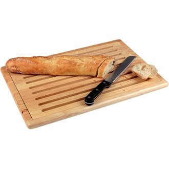 WIN-WARE Slatted Wooden Chopping / Cutting / Carving Dicing Bread Board / Block. Gastronorm sized slatted wood chopping board with bread crumb shelf and anti-slip feet.
