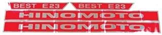 All States Ag Parts Decal E23 Hinomoto E23