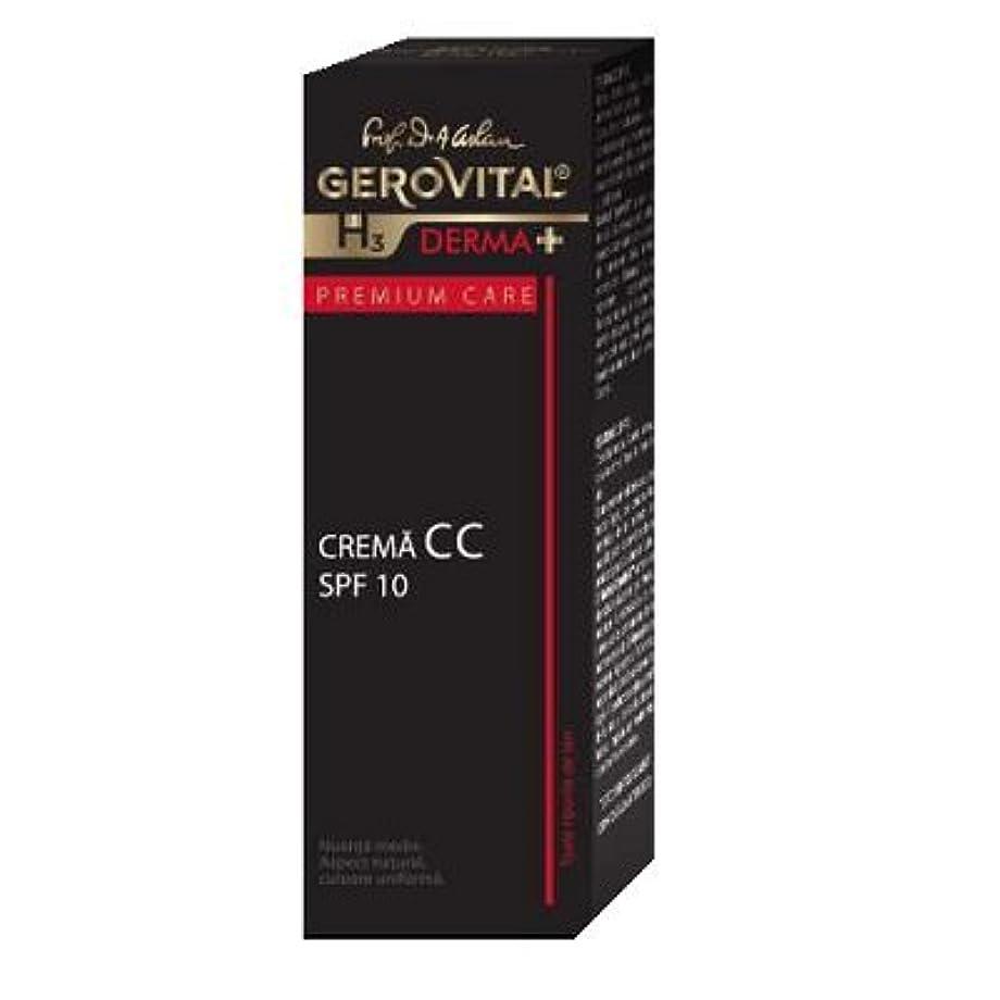 保守的代名詞空白ジェロビタール H3 デルマ+ プレミアムケア CCクリーム SPF10 30 ml / 1.0 fl.oz. [海外直送] [並行輸入品]