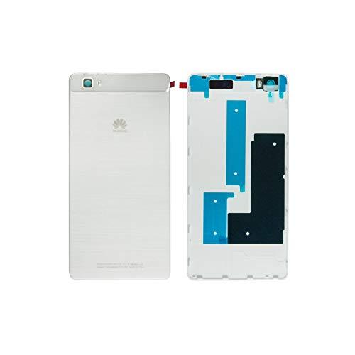 Original Huawei Akkudeckel White/weiß für Huawei P8 Lite (Akkufachdeckel, Batterieabdeckung, Rückseite, Back-Cover)