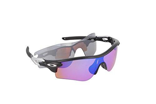 Oakley mens Radarlock Path OO9181-23 Polarized Sport Sunglasses,Matte Black Ink,55 mm