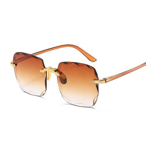 DLSM Gafas de Sol cuadradas de la Vendimia Gafas de Sol de Gran tamaño Degradado de Gran tamaño de la Dama de la Dama de la Dama de la Dama de la Pesca de la Pesca al montañismo de la conducción-Marr