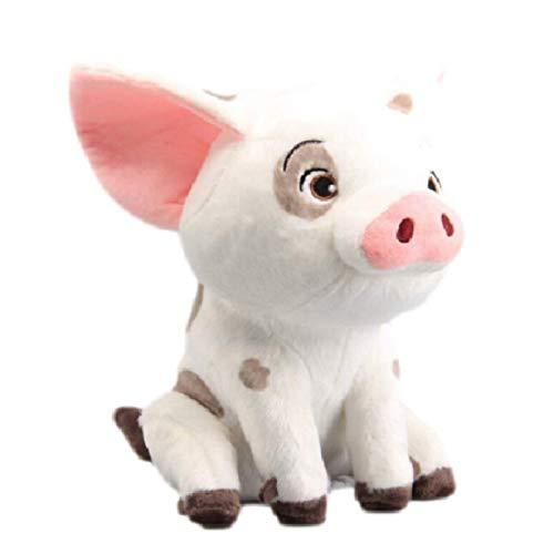 qinhuang Blinkende Sterne Moana Haustier Schwein Pua Kuscheltiere 22Cm Süße Cartoon Plüschtier Puppe