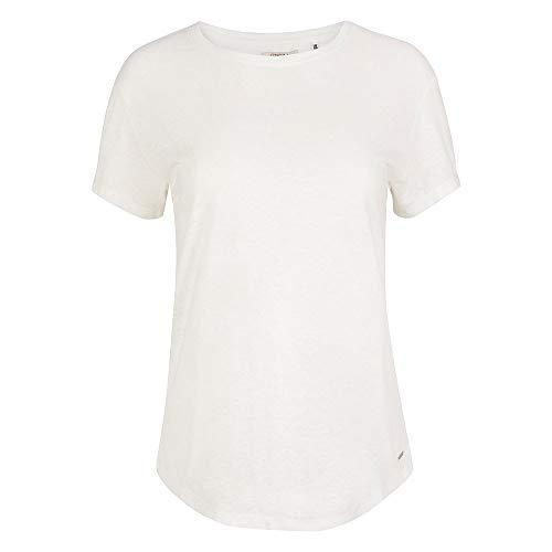 O'NEILL Camiseta de Manga Corta Essentials de Female-Adult, Camiseta, 1A7324, Color Blanco, Medium