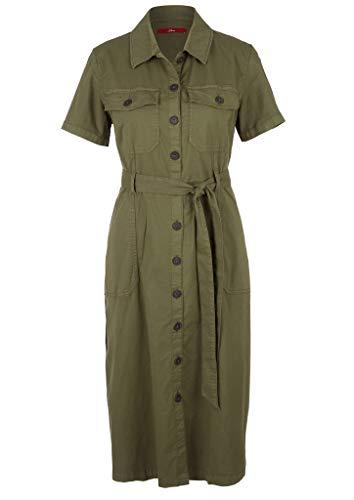 s.Oliver RED LABEL Damen Kleid kurz khaki 46