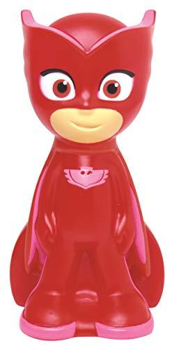 Lexibook PJ Masks Owlette LED-Nachtlicht PJ Masks Owlette für Kinder, Taschengröße, Batterie, Rot/Pink, NLJ001PJM2