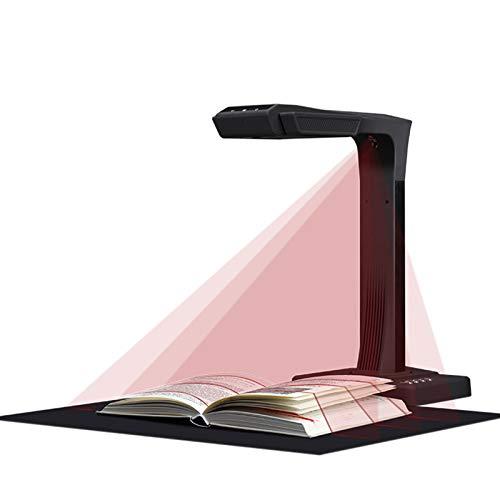 LIQIANG Book & Document Scanner, Auto-Flatten & Deskew Powered by AI Technology, OCR Text Recognition,OCR Text Recognition, Foot Switch