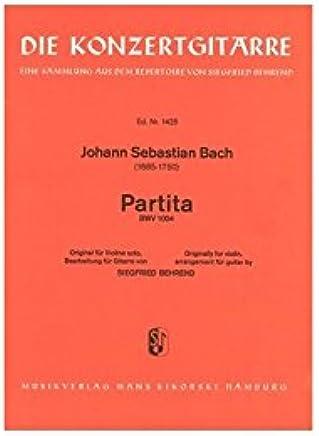 Johann Sebastian Bach: Partita. For Chitarra