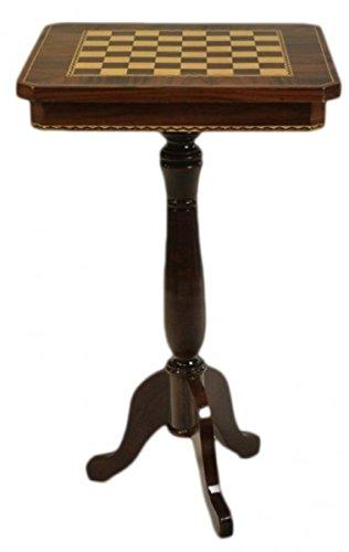 Casa Padrino Barock Spieltisch Schach/Dame Tisch Mahagoni - Möbel Antik Stil Art Deco Jugendstil Schachtisch