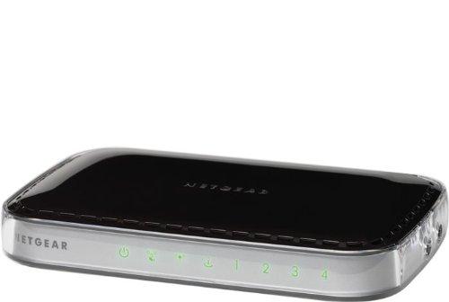 NETGEAR WNR1000-100PES RangeMax N150 Wireless Router mit integriertem 4-Port-Switch