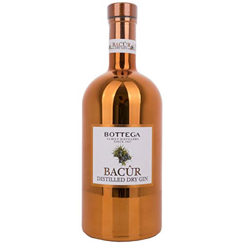 Bottega BACÛR Distilled Dry Gin 40,00% 1 l.
