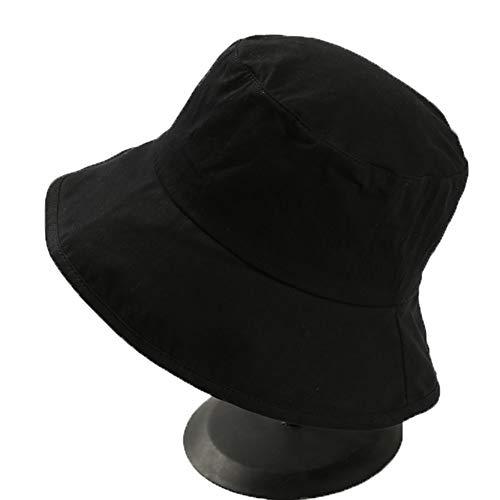 Pescador protección UV sombrero del pescador del sombrero sombrero de la pesca suave de algodón y poliéster Tela unisex ancha casquillo de Sun a prueba de viento for ir de excursión acampar Viajar Pes