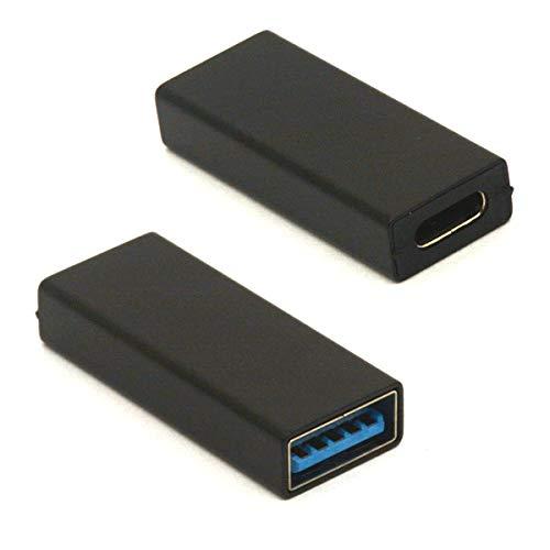 HTGuoji Adaptador USB tipo C a USB 3.0, USB-C hembra a USB A conector hembra compatible con Google Pixel, Huawei, Galaxy S20/S10/S9/S8, etc
