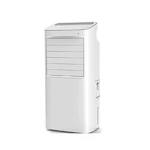 HANSHAN aire acondicionado portátil Por evaporación del refrigerador de aire del ventilador del acondicionador de aire Quiet, 4 Ajustes del viento y la Oscilación, 10L tanque de agua, 68W, 4 ruedas, c