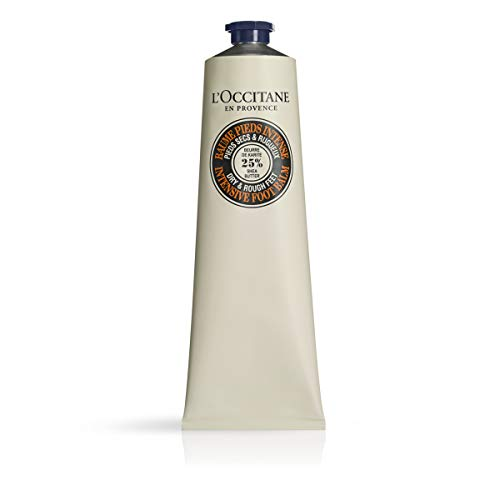 L Occitane Shea Butter Intensive Foot Balm with 25% Shea Butter and Allantoin for Dry to Very Dry Feet, Net Wt. 5.3 oz.