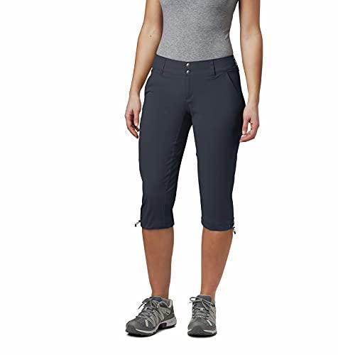 Columbia Saturday Trail II, Pantalones cortos, Mujer, Gris (India Ink), Talla W10/L18