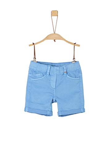 s.Oliver s.Oliver Mädchen 53.903.74.5864 Shorts, Blau (Blue 5313), (Herstellergröße: 92/REG)