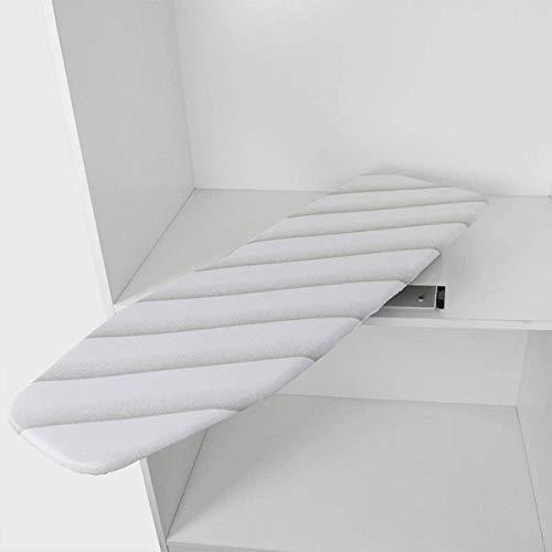 uyoyous Tabla de Planchar Plegable, Tabla de Planchar Plegable y Extensible para cajones, 950 mm de Largo x 300 mm de Ancho x 90 mm de Alto