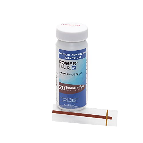 POWERHAUS24 Teststreifen für den Salztest