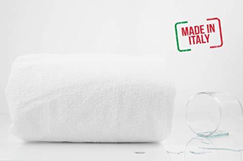Smartdecohome Coprimaterasso con Angoli Impermeabile Traspirante Antiacaro Made in Italy (Lettino)