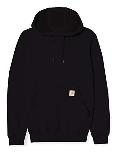 Carhartt Midweight Hooded Sweatshirt Maglia di Tuta, Black, XS Uomo