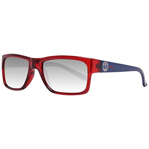 ESPRIT ET19736 46531 Sonnenbrille ET19736 531 46 Rechteckig Sonnenbrille 52, Rot