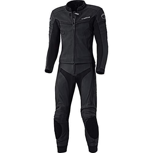 Held Spire Zweiteilige Lederkombi, Farbe schwarz, Größe 54