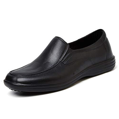HMAKGG Zapatos para Cocina, Negro, de Trabajo, Uso agroalimentario, Disponible en Varias Tallas Disponibles Zapatos de Trabajo,Negro,39 EU