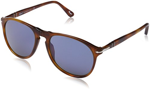 Persol Vintage Celebration Gafas de Sol, Marrón (Havana/Blue), 55 Unisex-Adulto