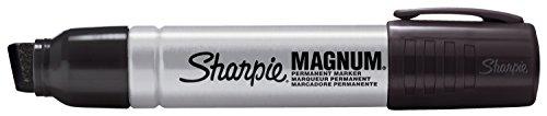 Sanford Sharpie Marqueur Permanent à Pointe biseautée Magnum, Multicolore