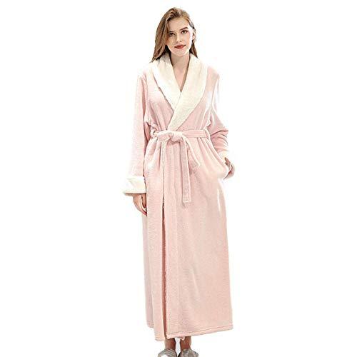 Szlafrok damski jesienno-zimowy, piżama wellness-A_L, szlafrok z luksusową suknią, podomka bawełniana lekka kąpiel