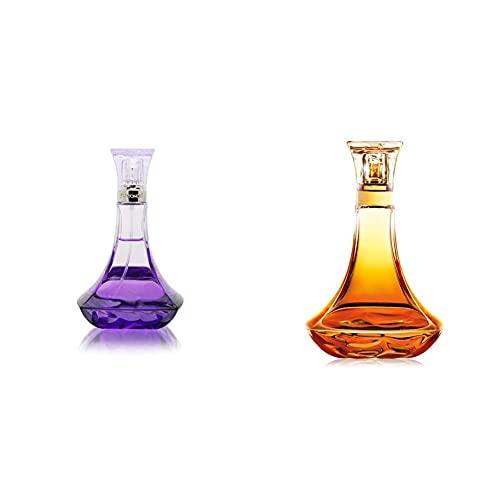 Beyonce Midnight Heat Eau De Parfum Fragrance for Women - 100 ml & Heat Rush Eau de Toilette Fragrance for Women, 100 ml