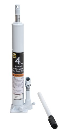 Omega 44940 Black Crane Jack - 4 Ton Capacity
