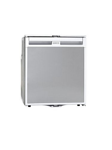 Waeco 9105303288 CoolMatic CR65 Frigorífico de Compresor Empotrable Fontal, Plateado Mate, 64 litros, 12/24V