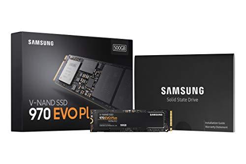 Samsung 970 EVO Plus Series - 500GB PCIe NVMe - M.2 Interno SSD (MZ-V7S500B/AM) 10