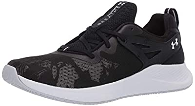 Under Armour Women's Charged Breathe TR 2.0+ Cross Trainer, Black (001)/White, 9 M US