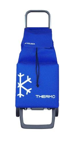 Rolser Einkaufsroller Joy/Jet Thermo / JET010 / blau / 35 x 30 x 97,5 cm / 48 Liter / 40 kg Tragkraft
