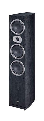 HECO Victa Prime 702 | 3 Wege Heimkino- und Stereo-Standlautsprecher | 1 Stück - schwarz