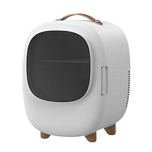 Yucong Mini-Réfrigérateur Mini Frigo de Chambre 8L Réfrigérateur Voiture Portatif Refroidisseur et Réchauffeur Thermoélectrique Portable Faible Niveau Sonore [Classe énergétique A++] (blanc)